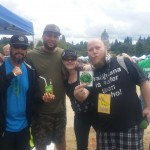 Eddie Funxta, Tony Montana from Chronic Candy, Canna Medic and On 1 at Olympia Hempfest 2015