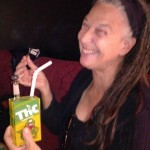 Naughty Grandma! Stopped off at Eddie Funxta's for dabs from the THC Hitman juice box