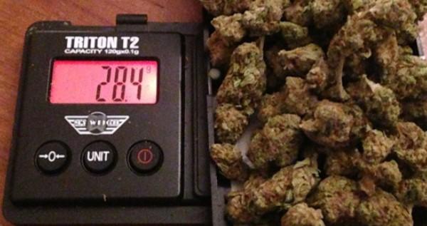 28.5 gram is the maximum ammount